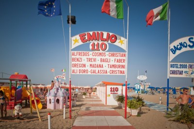 Stabilimento n. 110 - EMILIO - Spiaggia Rimini Network