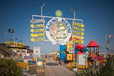 Stabilimento n. 105-A - BIKINI - Spiaggia Rimini Network