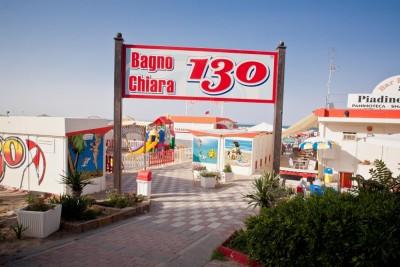 Stabilimento n. 130 - CHIARA - Spiaggia Rimini Network
